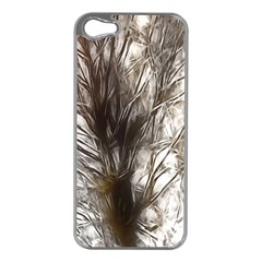 Tree Art Artistic Tree Abstract Background Apple Iphone 5 Case (silver)