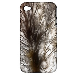 Tree Art Artistic Tree Abstract Background Apple iPhone 4/4S Hardshell Case (PC+Silicone)