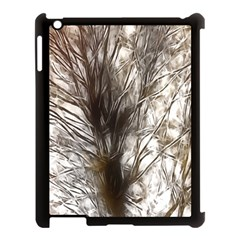 Tree Art Artistic Tree Abstract Background Apple Ipad 3/4 Case (black)