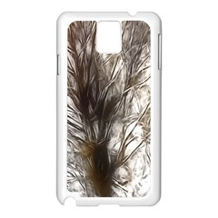 Tree Art Artistic Tree Abstract Background Samsung Galaxy Note 3 N9005 Case (white)