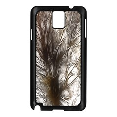 Tree Art Artistic Tree Abstract Background Samsung Galaxy Note 3 N9005 Case (black)