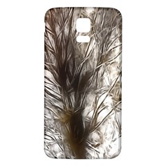 Tree Art Artistic Tree Abstract Background Samsung Galaxy S5 Back Case (White)