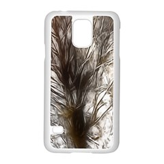 Tree Art Artistic Tree Abstract Background Samsung Galaxy S5 Case (white)