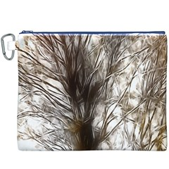 Tree Art Artistic Tree Abstract Background Canvas Cosmetic Bag (XXXL)