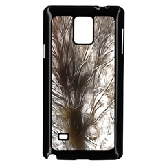 Tree Art Artistic Tree Abstract Background Samsung Galaxy Note 4 Case (black)