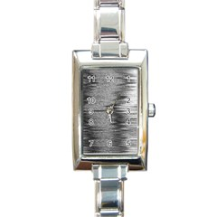 Rectangle Abstract Background Black And White In Rectangle Shape Rectangle Italian Charm Watch