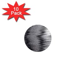 Rectangle Abstract Background Black And White In Rectangle Shape 1  Mini Magnet (10 pack)
