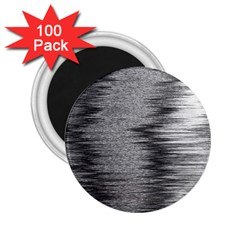 Rectangle Abstract Background Black And White In Rectangle Shape 2 25  Magnets (100 Pack)