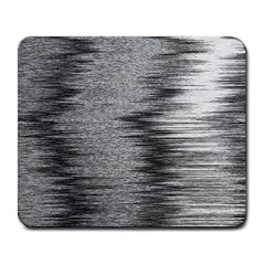 Rectangle Abstract Background Black And White In Rectangle Shape Large Mousepads