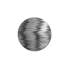 Rectangle Abstract Background Black And White In Rectangle Shape Golf Ball Marker (10 Pack)