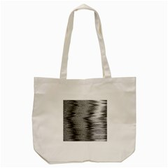 Rectangle Abstract Background Black And White In Rectangle Shape Tote Bag (Cream)