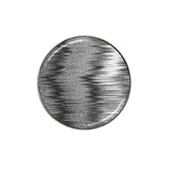 Rectangle Abstract Background Black And White In Rectangle Shape Hat Clip Ball Marker (10 pack)