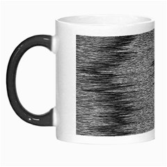 Rectangle Abstract Background Black And White In Rectangle Shape Morph Mugs