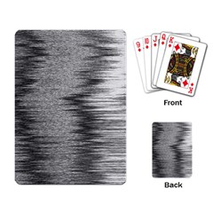 Rectangle Abstract Background Black And White In Rectangle Shape Playing Card
