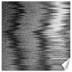 Rectangle Abstract Background Black And White In Rectangle Shape Canvas 12  X 12