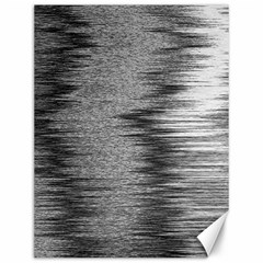 Rectangle Abstract Background Black And White In Rectangle Shape Canvas 12  x 16