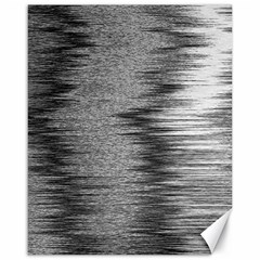 Rectangle Abstract Background Black And White In Rectangle Shape Canvas 16  x 20