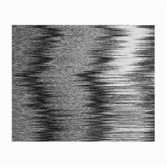 Rectangle Abstract Background Black And White In Rectangle Shape Small Glasses Cloth (2-Side)