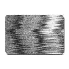 Rectangle Abstract Background Black And White In Rectangle Shape Small Doormat