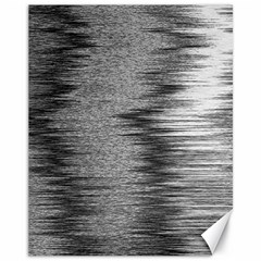 Rectangle Abstract Background Black And White In Rectangle Shape Canvas 11  x 14