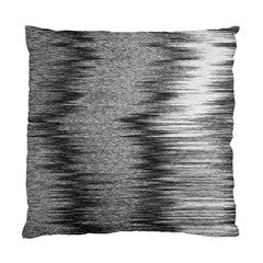 Rectangle Abstract Background Black And White In Rectangle Shape Standard Cushion Case (One Side)