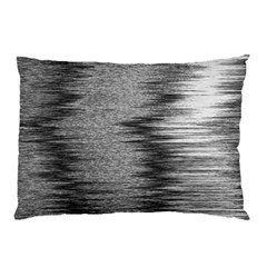 Rectangle Abstract Background Black And White In Rectangle Shape Pillow Case