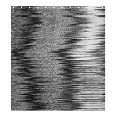 Rectangle Abstract Background Black And White In Rectangle Shape Shower Curtain 66  X 72  (large)