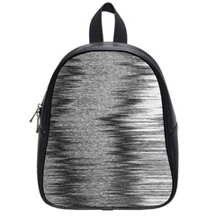 Rectangle Abstract Background Black And White In Rectangle Shape School Bags (Small)