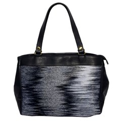Rectangle Abstract Background Black And White In Rectangle Shape Office Handbags