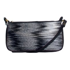 Rectangle Abstract Background Black And White In Rectangle Shape Shoulder Clutch Bags