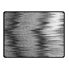 Rectangle Abstract Background Black And White In Rectangle Shape Fleece Blanket (Small)