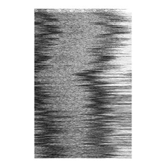 Rectangle Abstract Background Black And White In Rectangle Shape Shower Curtain 48  x 72  (Small)