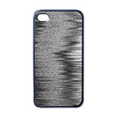 Rectangle Abstract Background Black And White In Rectangle Shape Apple iPhone 4 Case (Black)