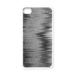 Rectangle Abstract Background Black And White In Rectangle Shape Apple iPhone 4 Case (White)