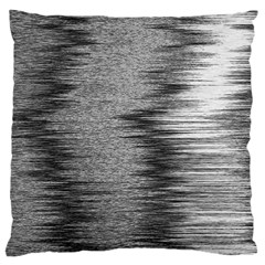 Rectangle Abstract Background Black And White In Rectangle Shape Large Cushion Case (Two Sides)