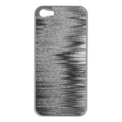 Rectangle Abstract Background Black And White In Rectangle Shape Apple Iphone 5 Case (silver)