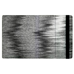 Rectangle Abstract Background Black And White In Rectangle Shape Apple iPad 2 Flip Case