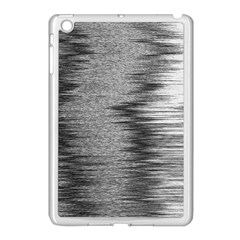 Rectangle Abstract Background Black And White In Rectangle Shape Apple Ipad Mini Case (white)