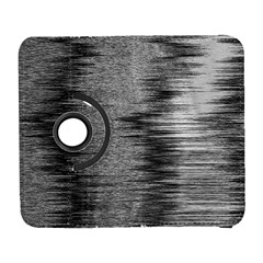 Rectangle Abstract Background Black And White In Rectangle Shape Galaxy S3 (Flip/Folio)