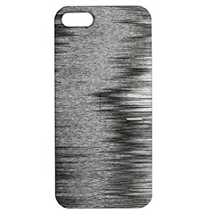 Rectangle Abstract Background Black And White In Rectangle Shape Apple iPhone 5 Hardshell Case with Stand