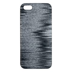 Rectangle Abstract Background Black And White In Rectangle Shape Apple iPhone 5 Premium Hardshell Case