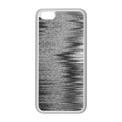 Rectangle Abstract Background Black And White In Rectangle Shape Apple Iphone 5c Seamless Case (white)