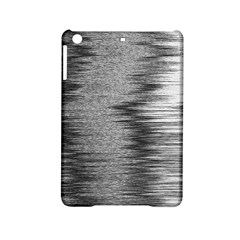 Rectangle Abstract Background Black And White In Rectangle Shape Ipad Mini 2 Hardshell Cases