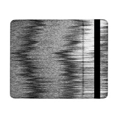 Rectangle Abstract Background Black And White In Rectangle Shape Samsung Galaxy Tab Pro 8 4  Flip Case