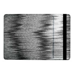 Rectangle Abstract Background Black And White In Rectangle Shape Samsung Galaxy Tab Pro 10 1  Flip Case