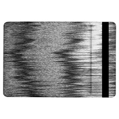 Rectangle Abstract Background Black And White In Rectangle Shape Ipad Air Flip
