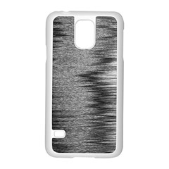 Rectangle Abstract Background Black And White In Rectangle Shape Samsung Galaxy S5 Case (white)
