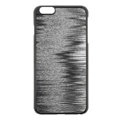 Rectangle Abstract Background Black And White In Rectangle Shape Apple Iphone 6 Plus/6s Plus Black Enamel Case
