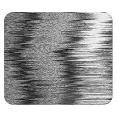 Rectangle Abstract Background Black And White In Rectangle Shape Double Sided Flano Blanket (small)