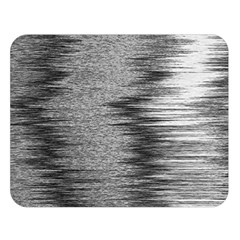 Rectangle Abstract Background Black And White In Rectangle Shape Double Sided Flano Blanket (Large)